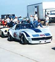 Photo: GT-1 Corvette at  Holtville Pre-grid