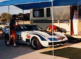 Photo: GT-1 Corvette at  Holtville Paddock