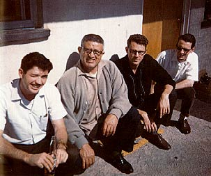 Photo: Joe Ternes, Mike Reynoso, Mike Houston, Ian Gatley in Tijuana