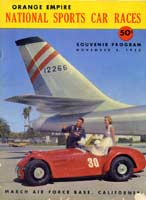Scan: program cover March AFB  1953