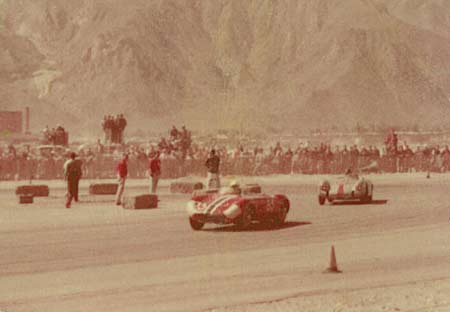 Photo: 1.5 Maserati and Ken Miles' Porsche Spyder