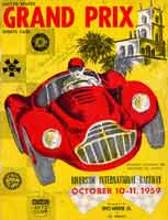 Scan: program cover Riverside International Raceway  1959