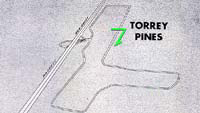Thumbnail: diagram of Torrey Pines race course, 1953