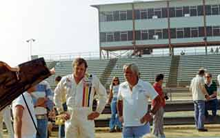 Thumbnail: Buddy Baker at an IROC event, hands on hips
