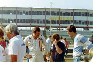 Thumbnail: Buddy Baker at an IROC event, hands on hips version 2