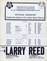 Scan: Santa Barbara 22nd Running, Sept. 1964   Entry List Page  Two