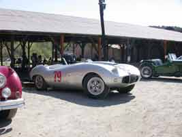 Thumbnail: Bill Watkins' Arnolt-Bristol at Paramount Ranch, October, 2002