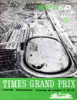 Thumbnail: cover of Cal Club magazine of October, 1963, showing an oblique aerial view looking north from Turn Nine.
