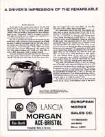 Scan: Hourglass Field races, October 1957  Entry LIst  second page