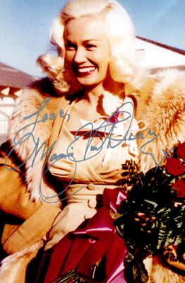 Second Photo autographed by Miss Van Doren
