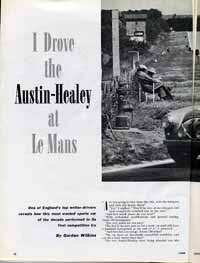 Thumbnail: Opening page, 1953 Healey article  Click for a larger, LONG-LOAD  view