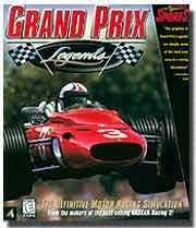 Scan of Grand Prix Legends computer racing simulation box