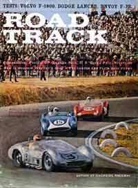 Scan: February, 1961 issue of Road & Track contains a report of the November F-1 race