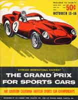 Scan: Cover Riverside International Raceway  1960