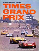 Scan: Times Grand Prix  1964 program  cover