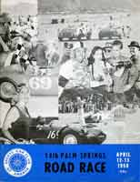 Scan: 14th Palm Springs road race  April, 1958  Program cover
