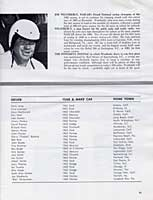 Scan: Riverside 500-Mile Stock Car Road Race  January, 1963   Official Etntries  Second Page