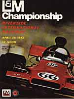 Thumbnail: Rverside International Raceway F-5000 race Program Cover - 1973