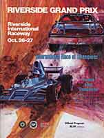 Thumbnail: Rverside International Raceway F-5000 race Program Cover - 1974