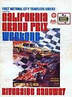 Thumbnail: Rverside International Raceway F-5000 race Program Cover - 1976