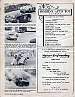 Scan: Pomona Sports Car Road Races  November  5-6, 1960  Women Racers  pictures  Page One