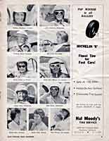 Scan: Pomona Sports Car Road Races  November  5-6, 1960  Women Racers pictures  Page Three