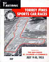 Thumbnail: Torrey Pines Sports Car Races  July 9-10, 1955  Program Cover