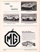 "Scan: ""Cars to watch"" Riverside International Raceway  1960"